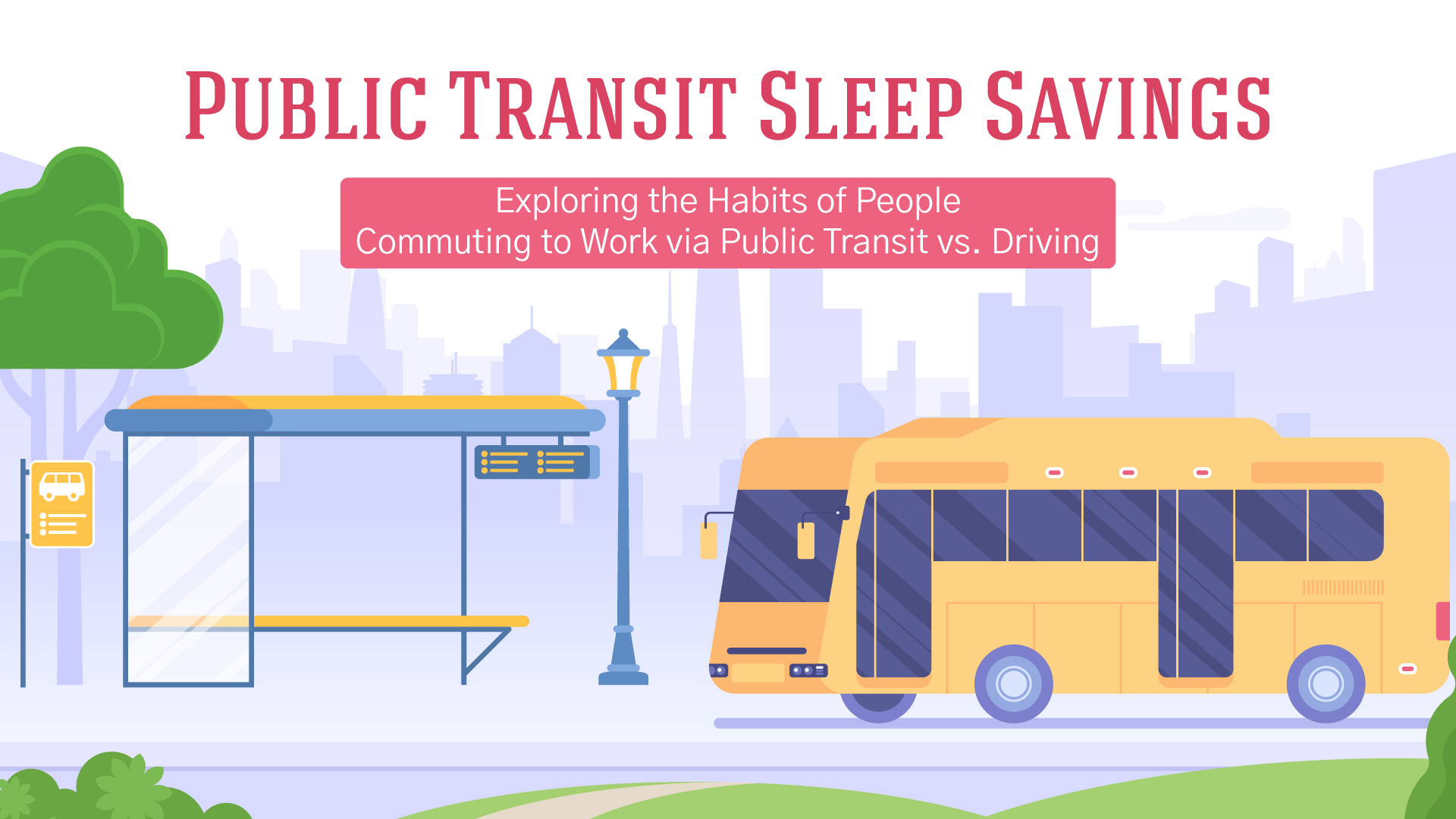 Exploring the Habits of People Commuting to Work via Public Transit vs. Driving
